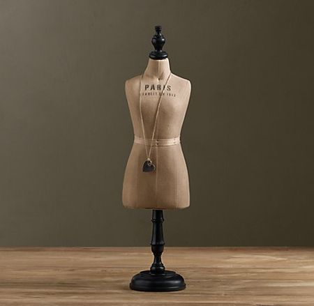 Restoration Hardware Mini Dressmaker Form