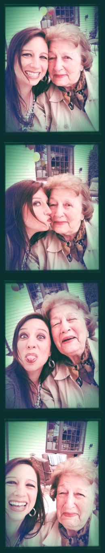 Danielle & Nan Photostrip 1