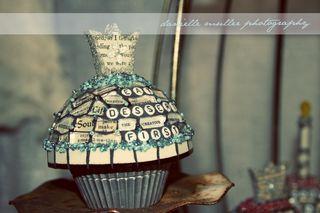TCC Michelle Legler Mosaic Cupcake