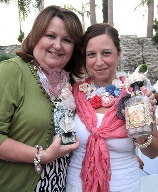 Cheryl&DanielleBottleSwap