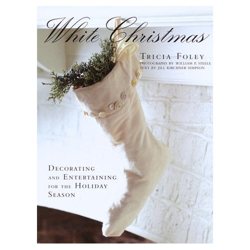 White Christmas Book by Tricia Foley