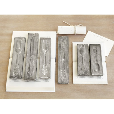 Ballard Designs Silverware Moulds