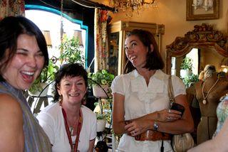Ruth, Maija and Kelly