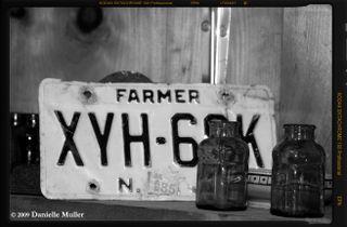 Farmer License Plate