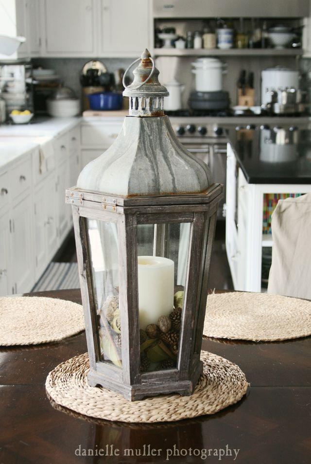 Pottery Barn Lantern 1