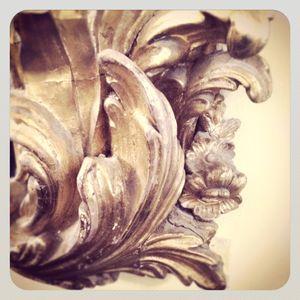 Gold gild mirror