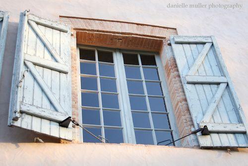 Chateau dumas window