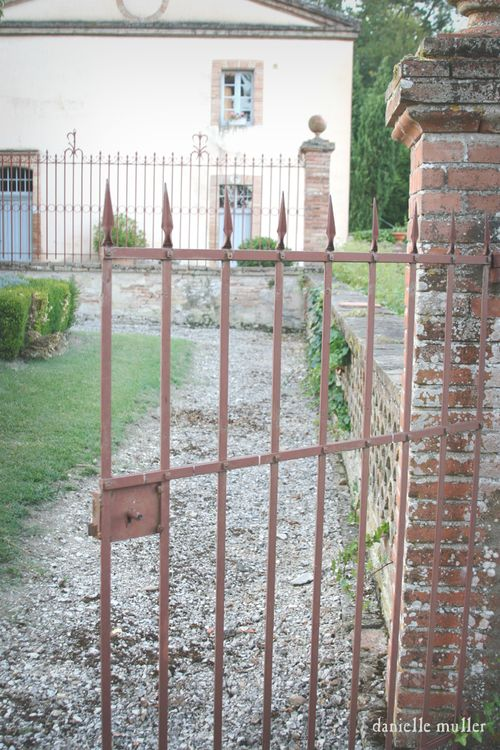 Gate at Chateau Dumas