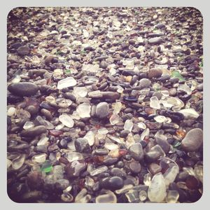 Glass beach 1