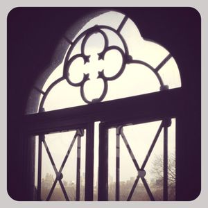 Belvedere castle window 1