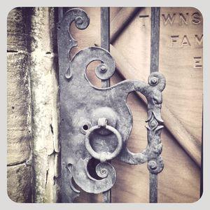 Gate detail @ greenwood cemetery