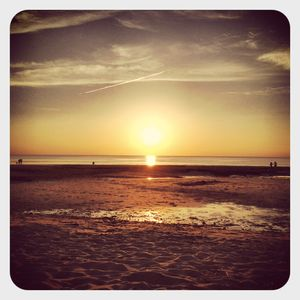 Sunset in cape cod