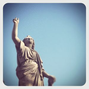 Greenwood cemetery statue 1