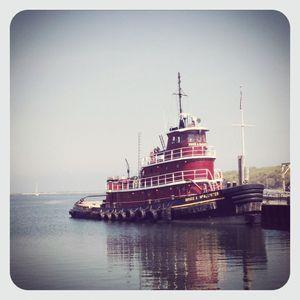Tugboat in pj