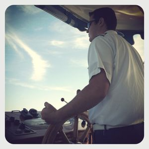 Disney boat captain