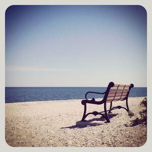 Bench @ cedar beach