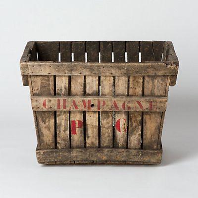Champagne crate TERRAIN
