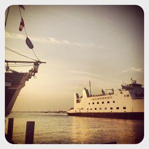Ferry in port jeff