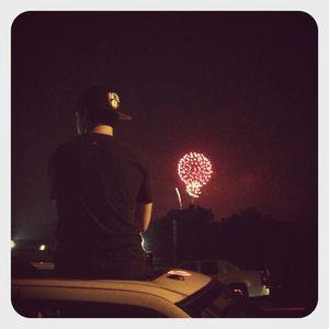 Austin & fireworks