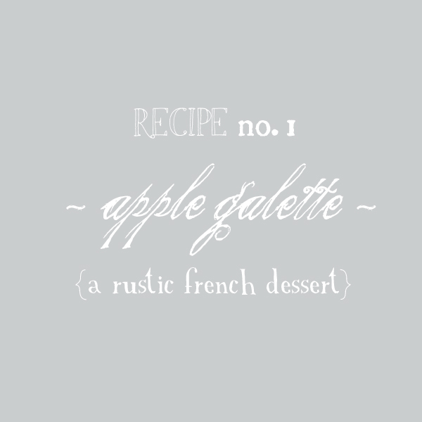 Text square for galette post