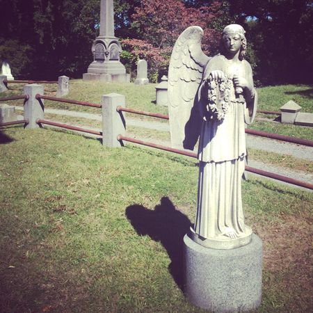 Angel Statue @ Sleepy Hollow Cemetery
