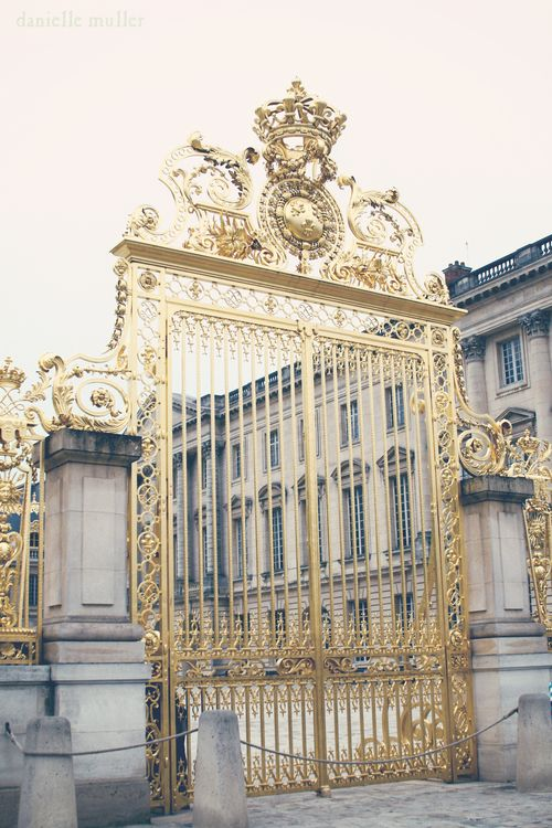 Gold Gates of Versailles