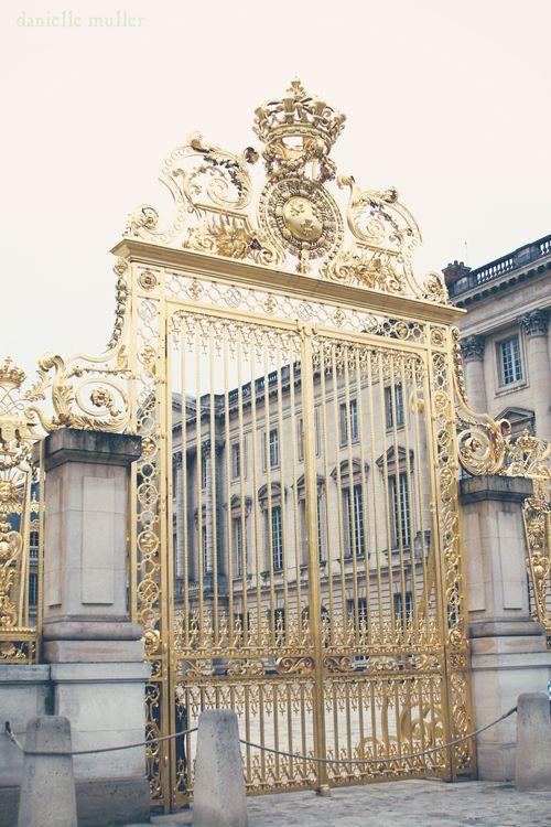 Gold Gates of Versailles