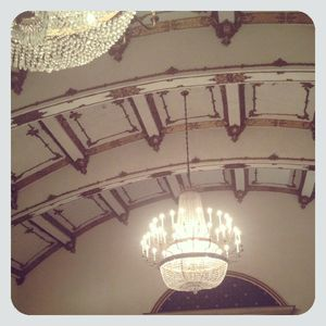 Langham ballroom framed