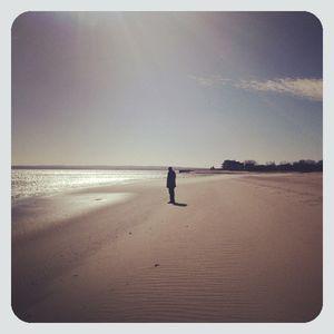 Michael on beach