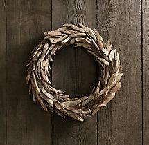 Driftwood wreath RH