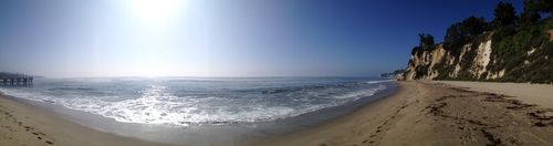 Paradise cove panoramic