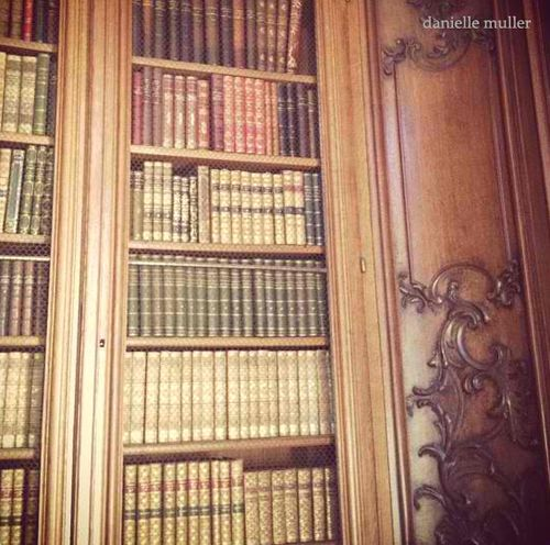 Library @ Chateau de Bourron
