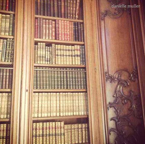 Library @ Chateau de Bourron