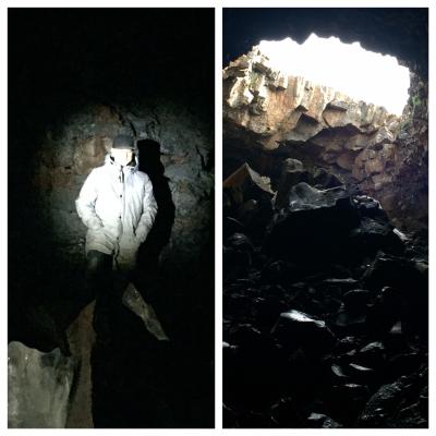 Lava Ice Tube Cave 3